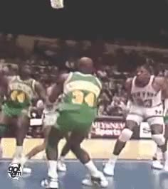 Watch and share Seattle Supersonics GIFs and Xavier Mcdaniel GIFs on Gfycat