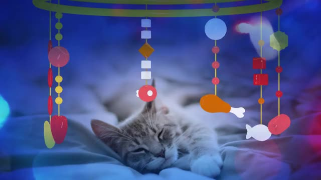 CAT MUSIC - LULLABY FOR CAT OR KITTEN (SOOTHING MUSIC) 1