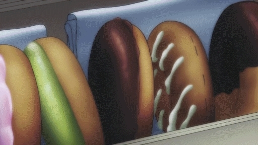 animegifs, Mmm... Doughnuts! [Dream Eater Merry] (reddit) GIFs