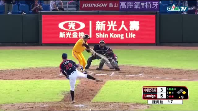 Watch and share Lamigo Monkeys GIFs and Cpbl Stats GIFs on Gfycat