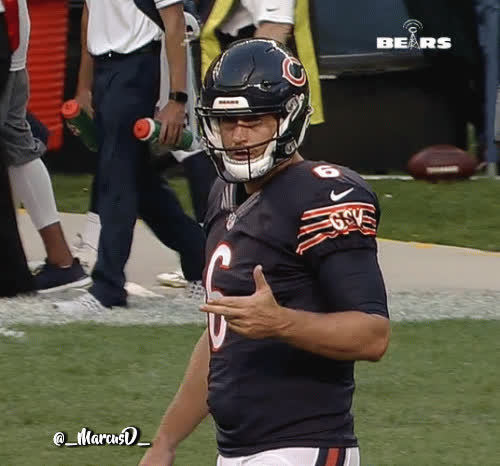 nflgifs, swordartonline, Jay Cutler click click boom. Not sure what this all about. GIFs