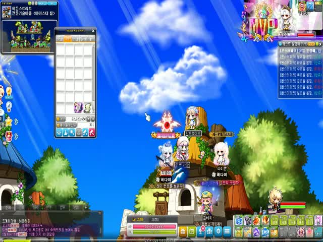 Watch and share Adventure Island Online MapleStory 2019.09.08 - 18.30.26.12.DVR GIFs by oversize- on Gfycat
