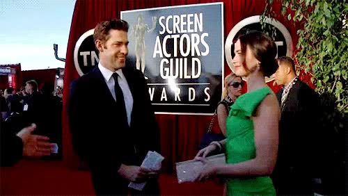 Watch and share John Krasinski GIFs and Emily Blunt GIFs on Gfycat