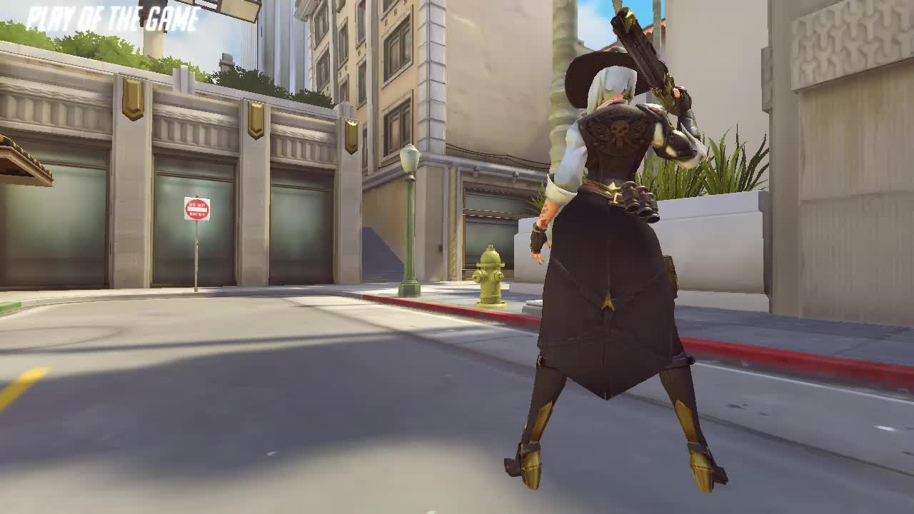 ashe, gaming, overwatch, potg, gaming GIFs