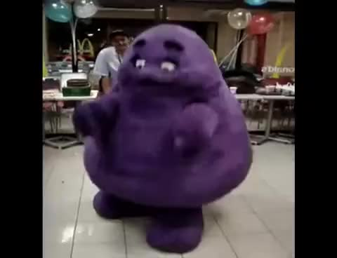 Watch Dancing Grimace GIF on Gfycat. Discover more Grimace GIFs on Gfycat