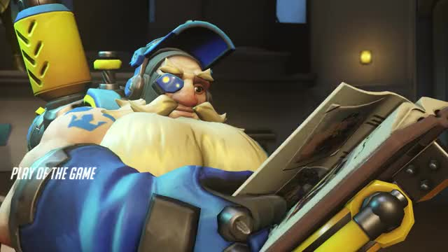 Watch and share Overwatch GIFs and Torbjorn GIFs by Tombstone on Gfycat