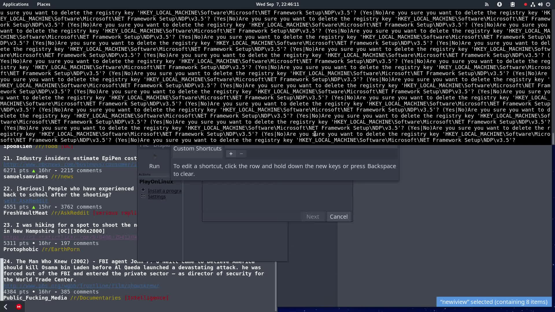 linuxmemes, softwaregore, Trying to use PlayOnLinux to install iViewRipper... GIFs