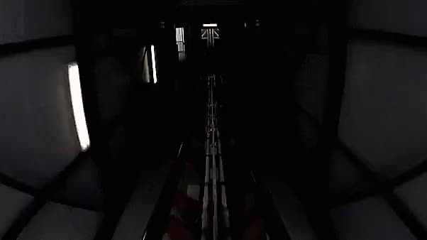 Watch and share Sky Scream Roller Coaster POV (reddit) GIFs by orbojunglist on Gfycat