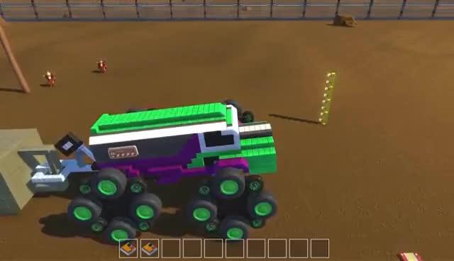 Watch and share Scrap Mechanic - Monster Trucks! GIFs on Gfycat
