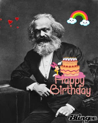 Watch and share Karl Marx Birthday GIFs on Gfycat