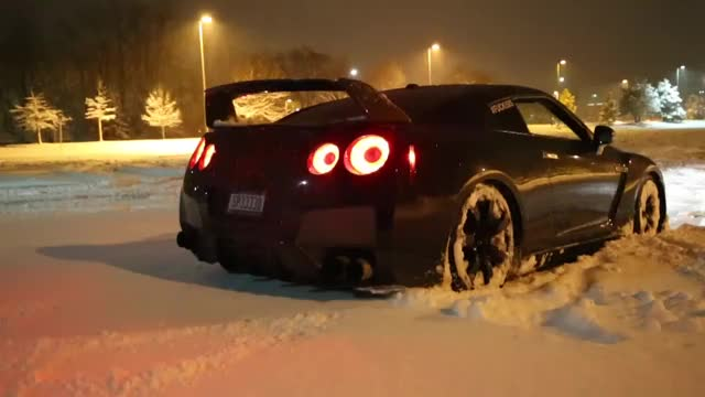 Watch and share GTR Snow Launch Control Flamethrower! GIFs on Gfycat