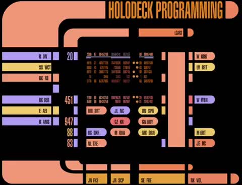 Watch and share Holodeck Programming GIFs on Gfycat