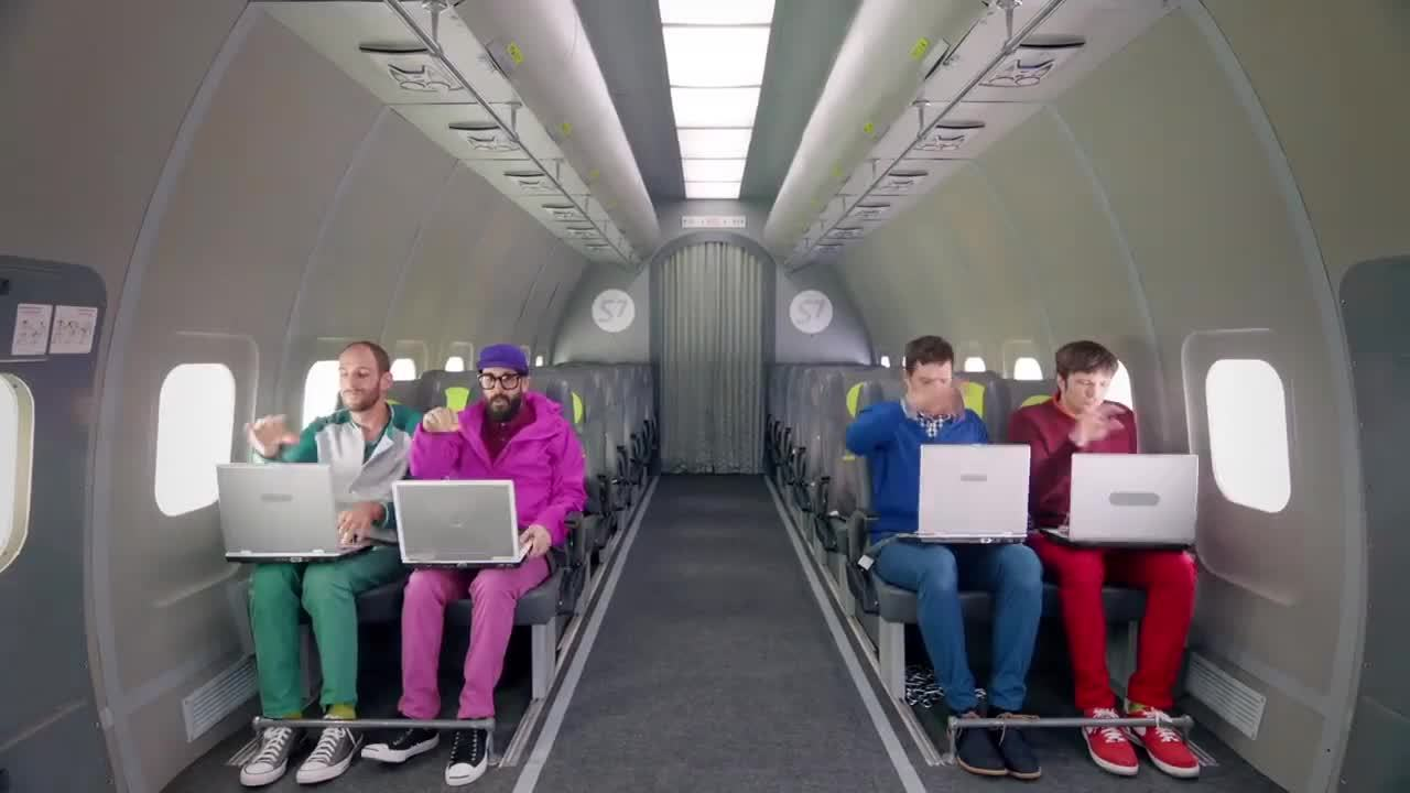 Inside Out, OK Go, Upside Down, Upside Down & Inside Out, Upside Down and Inside Out, busy, okgo, work, Busy GIFs