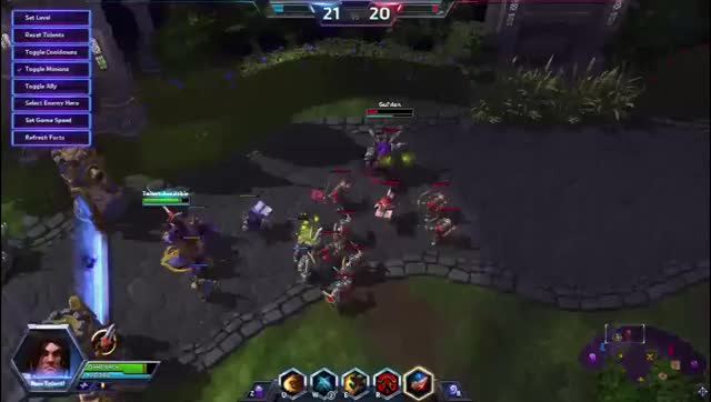 Watch and share Varian Taunt GIFs by hoeyboey on Gfycat