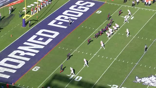 Watch and share Gladney Presses Endzone Fade Vs CJ GIFs on Gfycat