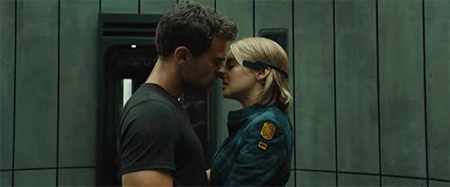 Watch divergent series allegiant fourtris kiss GIF on Gfycat. Discover more related GIFs on Gfycat