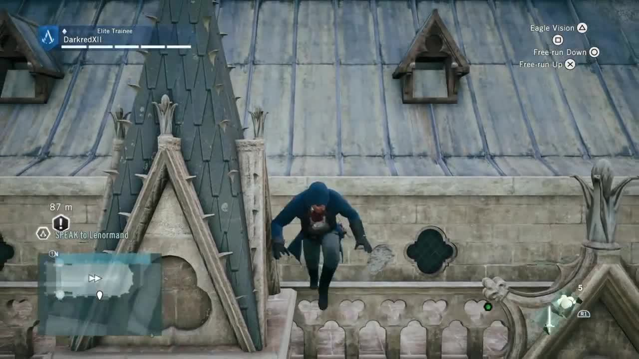 Bugs, gamephysics, playmygame, [Assassin Crred Unit] Fall Denied GIFs