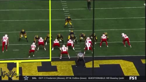 Watch Mason TD 2 GIF by MGoBlog (@mgoblog) on Gfycat. Discover more 2018, Ben Mason, Football, Michigan, Nebraska GIFs on Gfycat