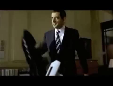 Watch this johnny english GIF on Gfycat. Discover more 2003, coat, english, funny, johnny, johnny english, movies, reborn, rowan atkinson, scene GIFs on Gfycat
