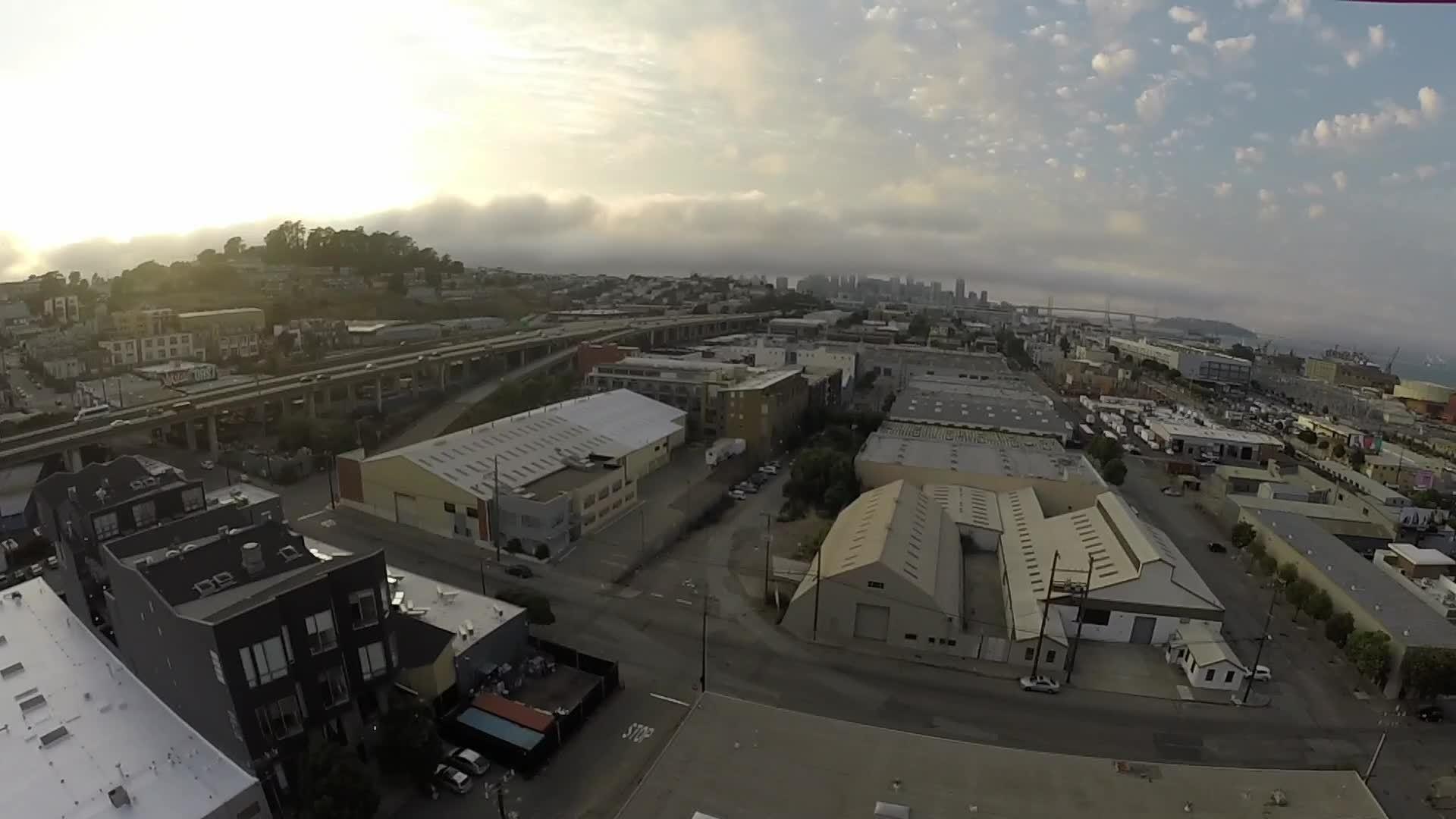 dogpatch, drone, drone footage, drones, san francisco, Drone footage from San Francisco in Dogpatch #4 GIFs