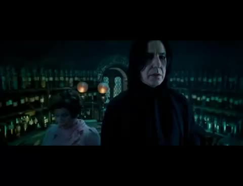 Watch and share Obviously GIFs and Snape GIFs on Gfycat