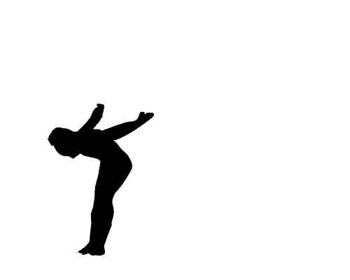 Watch Miss Dynamic! GIF on Gfycat. Discover more balance beam, gif, gifs, gymnastics, rotoscope, viktoria komova GIFs on Gfycat