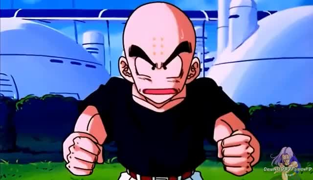 Watch and share Dragon Ball Z GIFs and Krillin GIFs on Gfycat