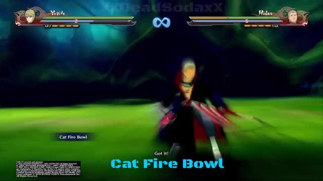 Watch Naruto Shippuden Ultimate Ninja Storm 4 Yugito Nii 2 Tailed Beast Matatabi All