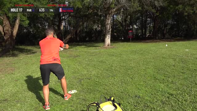 Watch Quarterfinals 2018 DGPT Championship - MPO B9 | Drew Gibson hole 17 putt GIF by Benn Wineka UWDG (@bennwineka) on Gfycat. Discover more ccdg, cory murrell, dgpt, disc golf, disc golf pro tour, drew gibson, eric oakley, johne mccray, nate perkins, pdga GIFs on Gfycat