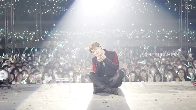 Watch and share [STATION] SMTOWN 'Dear My Family (Live Concert Ver-)' MV 2 GIFs by The Angry Camel on Gfycat