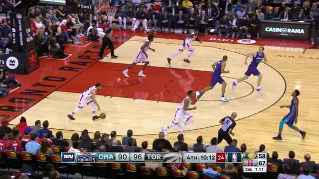 Watch Transition corner GIF by Mike Snyder (@m_james_snyder) on Gfycat. Discover more Charlotte Hornets, Toronto Raptors, basketball GIFs on Gfycat