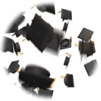 Watch and share Graduation Hats GIFs on Gfycat