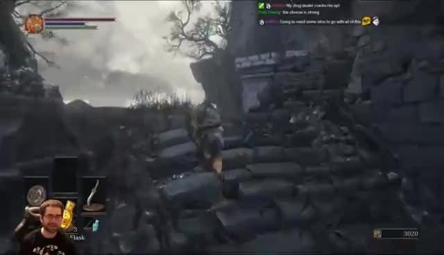 Dark Souls 3 Cheese All Bosses Run (Pt. 1) GIFs