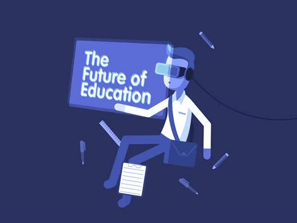 Watch and share That's What Education Will Look Like In The Future GIFs on Gfycat
