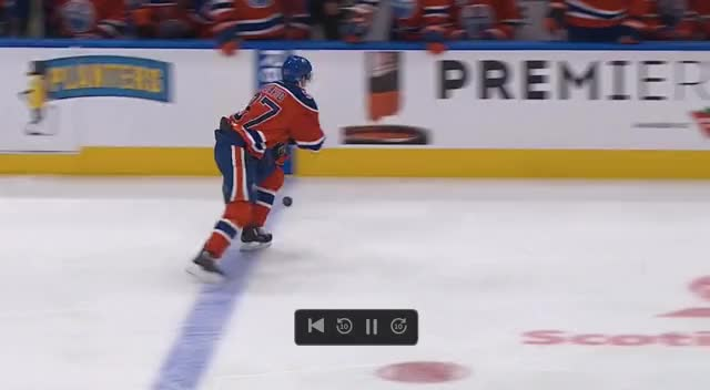 Watch and share Brent Burns Beat By McDavid GIFs by cultofhockey on Gfycat