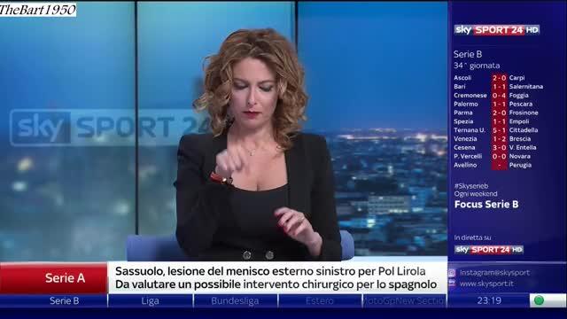 Vanessa Leonardi sky sport 24 100418