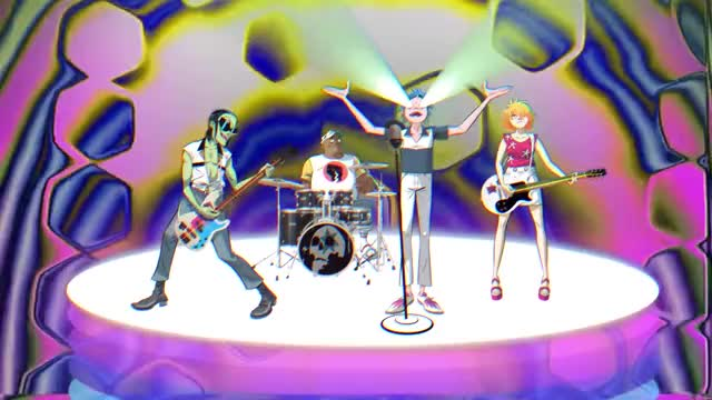 Watch this trending GIF on Gfycat. Discover more 2018, alternative music, gorillaz, new video, pop music, the now now, trans, trans song, tranz, tranz song GIFs on Gfycat