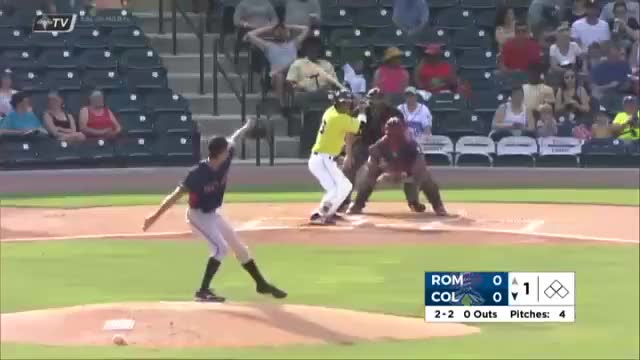 Watch and share Columbia Fireflies GIFs and Andres Gimenez GIFs on Gfycat