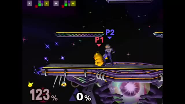 Watch and share Sheik Downthrow Pikachu Sweetspot GIFs by itotopping on Gfycat