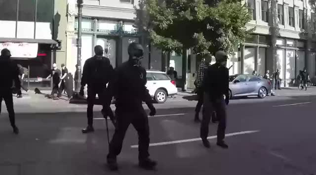 Watch antifa ktfo GIF on Gfycat. Discover more related GIFs on Gfycat