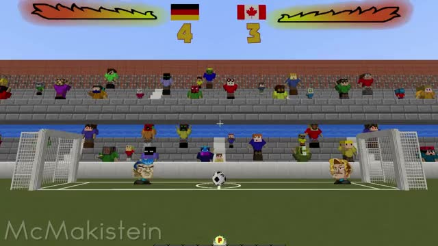 Watch Head Soccer in Vanilla Minecraft GIF by @mcmakistein on Gfycat. Discover more minecraft GIFs on Gfycat