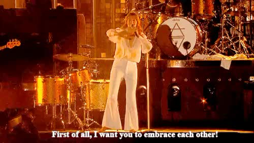 Watch and share Florence Welch GIFs and Coachella GIFs on Gfycat