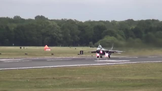 Watch and share Spectacular Vertical Take Off MIG 29 At RIAT 2015 GIFs on Gfycat