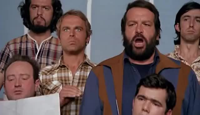 Watch and share Bud Spencer E Terence Hill Al Teatro GIFs on Gfycat