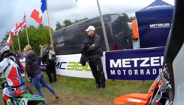 KTM EXC 300 // zwei Takt // MC360 Reifentest // GCC Triptis // Jens Kuck GIFs