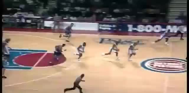 Watch and share Grant Hill Alley-oop GIFs by drjsfro on Gfycat