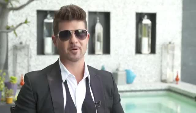 robin thicke, Robin Thicke Drops A Mixtape for Kevin Hart | Real Husbands of Hollywood GIFs