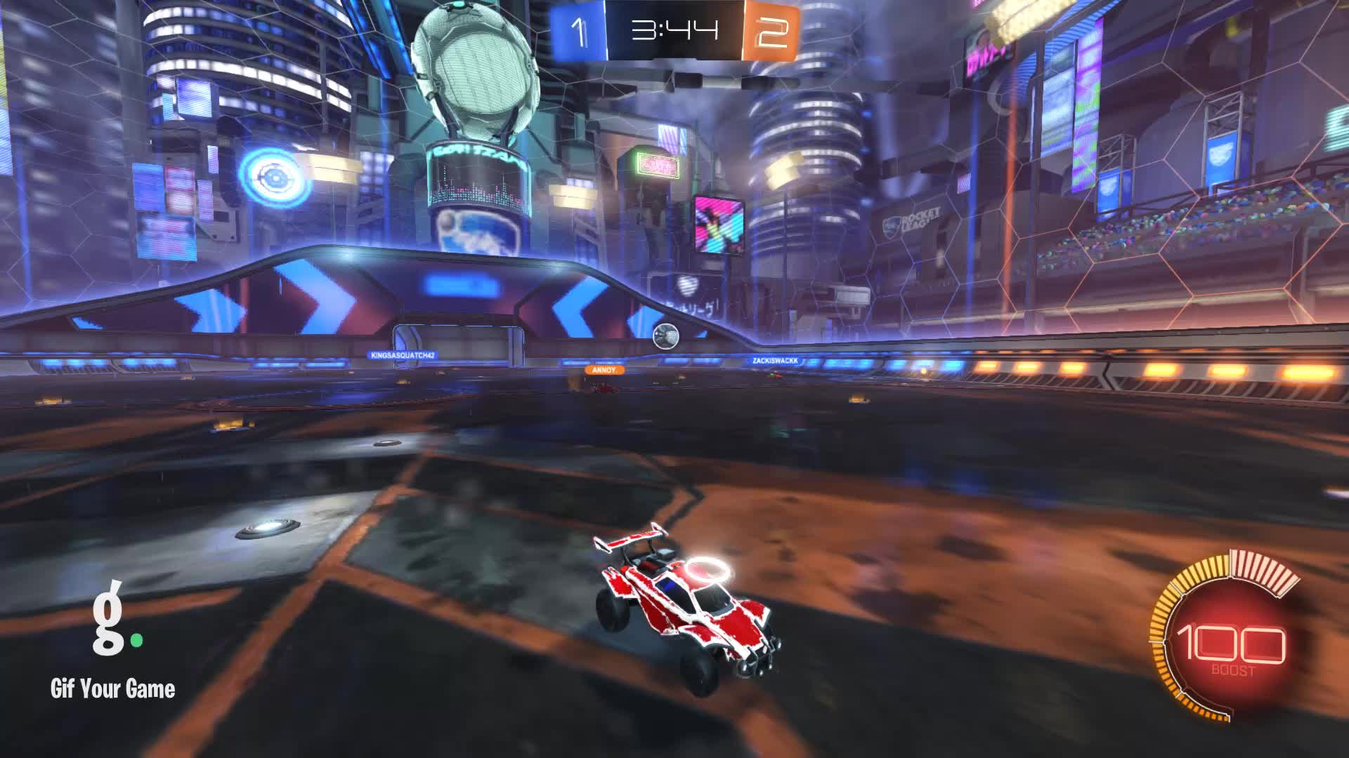 Gif Your Game, GifYourGame, Goal, Rocket League, RocketLeague, lilmoist., Goal 4: Annoy. GIFs