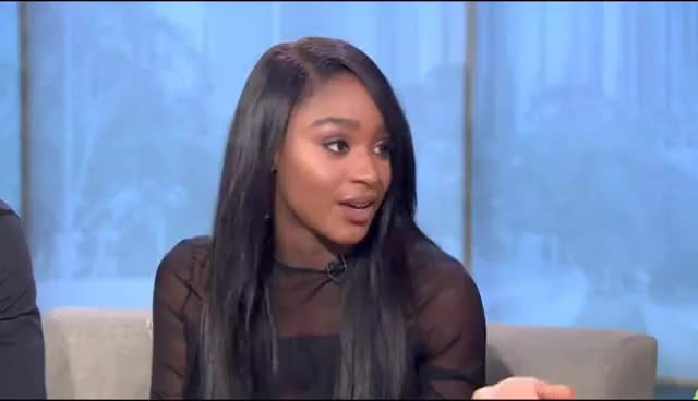 """Watch NORMANI KORDEI & VAL CHMERKOVSKIY DISCUSS """"DANCING WITH THE STARS'"""" GIF on Gfycat. Discover more related GIFs on Gfycat"""