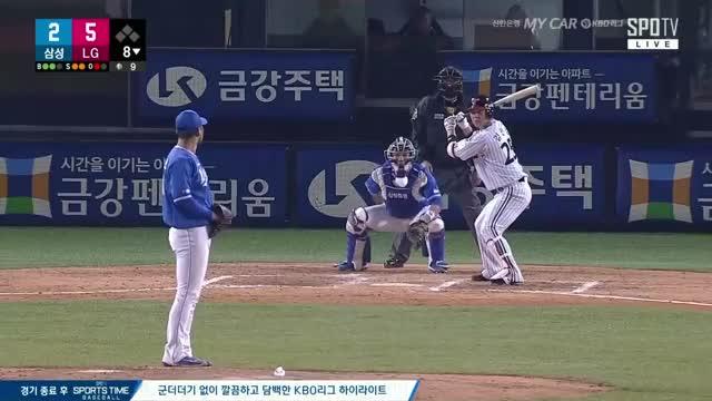 Watch 김민성 이적 첫 안타 GIF by 노승호 (@nsh880329) on Gfycat. Discover more baseball GIFs on Gfycat